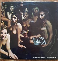Jimmy Hendrix Experience Electric Ladyland Original Uk First Pressing By Ploydor
