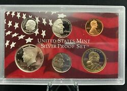 2005 Us Mint Silver Proof Set In Box With Coa 1086