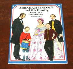 Abraham Lincoln And His Family Paper Dolls In Full Color Paper Doll Book