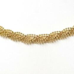 Jewelry 18k Yellow Gold Necklace About26.4g Free Shipping Used