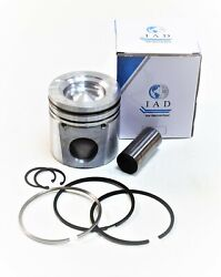 New Piston Kit Isc Cummins 4955581 Piston W/pinandclips And Ring Setset Of 6