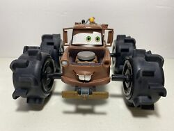 Disney Cars Mater Monster Pull And Go Tow Truck Toy Rare