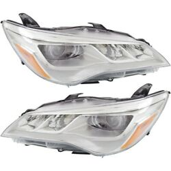 8111006870 To2503223 Headlight Lamp Left-and-right Lh And Rh For Toyota Camry