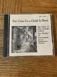For Unto Us A Child Is Born Cd