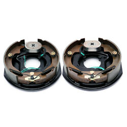 Pair 10 X 2.25 Electric Trailer Brake Assembly Left Right 3500lb Axle 10 X2-1/4