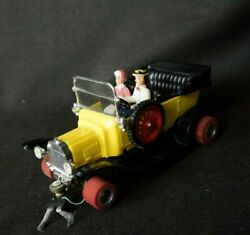 Vintage 1960andrsquos 1/24 Slot Car Custom Cragstan Yellow Ford Model T