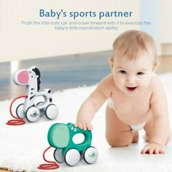 Baby Children Growth Toy Animal Pull Rope Car Toys Toddler Kids Early Education