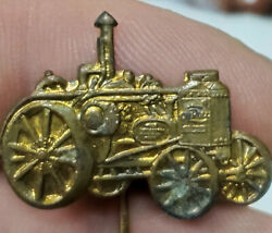 Old Advanced Rumley Gas Engine Oil Pull Tractor Advertising Stick Pin