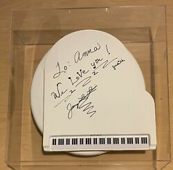 Jerry Lee Lewis Signed Toilet Seat Piano Jammin Johns Autographed Framed In Case