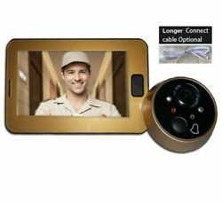 Video Peephole Doorbells Camera Viewer Wired Connection 16 Music Tones To Choose