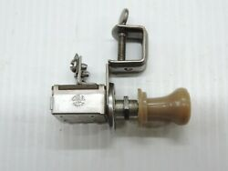 Vintage Cole Pull / Push Switch For Lights On Off 1940and039s Aftermarket Accessory