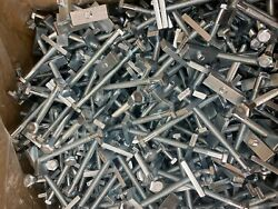 50 Counter Top Draw Bolts 1/4 20 X 3 1/2 Joint Fastener Formica Wood Clamp