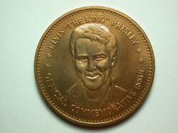 Elvis The King Presley National History Mint Commemorative Coin 4