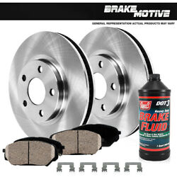 Front Rotors And Ceramic Pads For Grand Prix Cutlasslumina Chevy Monte Carlo