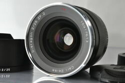 [mint+]carl Zeiss Distagon T 25mm F/2 Zf.2 Lens For Nikon F Mount 4916