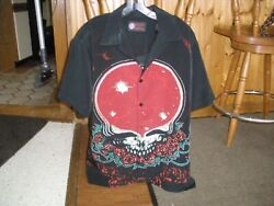 Grateful Dead Space Your Face Dragonfly Button Up Shirt