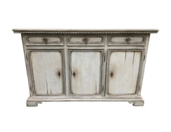 Italian Painted Sideboard Credenza Buffet - Early 20th C