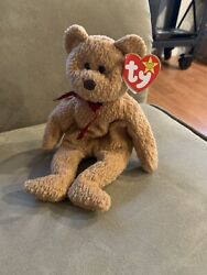 Ty Beanie Baby Curly Retired W/ Tag Errors Very Rare Collectible 4052