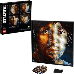 Lego The Beatles Art Collectible Building Kit For Adults 31198