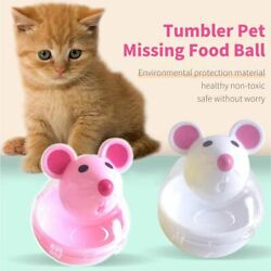 Snacky Mouse Play And Eat Cat Food Treats Delicious Game Exercise Dispensing Toy