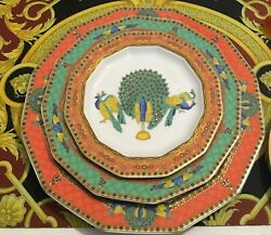 Versace Marco Polo Le Voyage Dinner Set 3 Place Setting Plate Discontinued