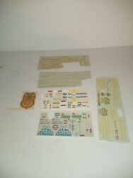 Revell Monogram Amt Assortment Of Decals Plastic Model Kits Old Stock A