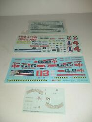 Revell Monogram Amt Assortment Of Decals Plastic Model Kits Old Stock H