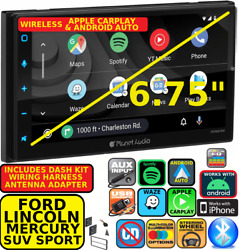 Ford Lincoln Mercury Wireless Apple Carplay Android Auto Navigation Car Stereo