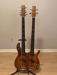Double Neck Guitar Custom Guitar For T.m Stevens With Road Case