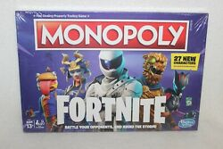 Monopoly Fortnite Edition Board Game - Newest Edition - Factory Sealed