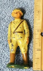 Vintage Barclay B45 Chinese / Mongolian Officer Lead Toy Soldier B-045 1930's