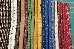 40 Temecula Treasures Reproduction 5 Squares Charm Pack Quilt Fabric