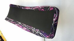 Yamaha Grizzly 660 Seat Cover Muddy Girl Pink Camo Fits All Years 660grizzly