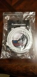 New Authentic Audioquest Cappuccino Hdmi Cable W Ethernet 3d 4k Ultra 12 Feet