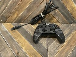 Pdp Microsoft Xbox One Black Camo Wired Controller With Back Buttons M2