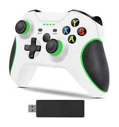 Wireless Controller For Xbox One And Microsoft Windows 10 Bluetooth - White