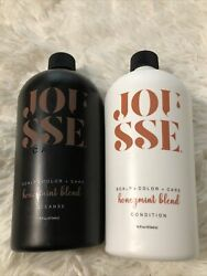 Jousse By Calista Honeymint Blend Cleanse And Condition - 16oz Each - New And Sealed