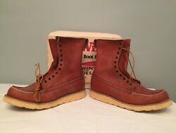 Vintage New Old Stock Red Wing Irish Setter 877 Hunting Boots Shoes 12 Menandrsquos