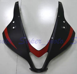 Front Fairing Nose Head Upper Cowl Fit For Honda Cbr600rr F5 2009-2012 Black Red