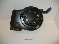 Briggs And Stratton Blower Housing 790826 And Recoil Starter 497680 Used Works