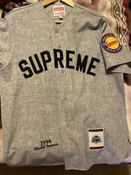 Supreme Mitchell And Ness Baseball Top 100 Wool Holy Grail New With Tags