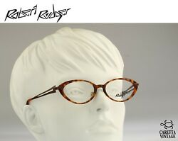 Robert Rudger 2220 263 P9 Vintage 90s Tortoise Small Slim Cat Eye Glasses Frames