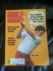 Golf Digest Magazine September 1979 Pick The Right Putter - Hale Irwin