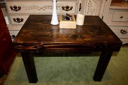 Rustic Farmhouse Coffee Table | Real Pinewood | Solid, Sturdy And Beautiful
