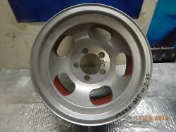 Vintage 15x8.5 Slot Mag Wheel 5on5 Chevy Van/truck Full-size Ford/chevy Car Gm