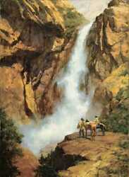 Howard Terpning - Where Spirits Dwell - Sign And Number Ltd Ed Giclee Canvas