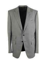 New Tom Ford Oand039connor Gray Suit Size 52 / 42r U.s. Fit Y