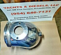 Water Cooled Stainless Steel Wet Turbo Elbow For Detroit 6v71 485 Hp. Used / Se