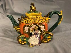 Fitz And Floyd Cinderellaand039s Carriage Teapot