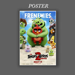 New Stock Angry Birds 2 Movie Poster Picture Print Choose Size